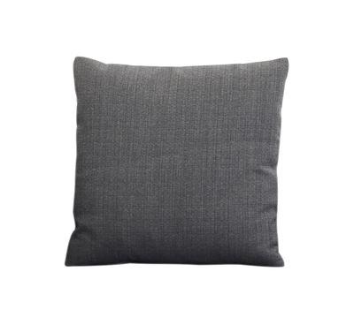 Coussin / 44 x 44 cm - Zanotta gris foncé en tissu
