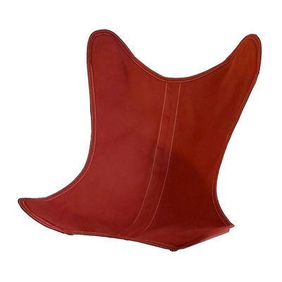 Housse Coton OUTDOOR / Pour fauteuil AA Butterfly - AA-New Design rouge/orange en tissu