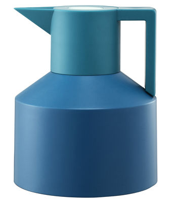 Tableware - Tea & Coffee Accessories - Geo Insulated jug by Normann Copenhagen - Turquoise - Plastic