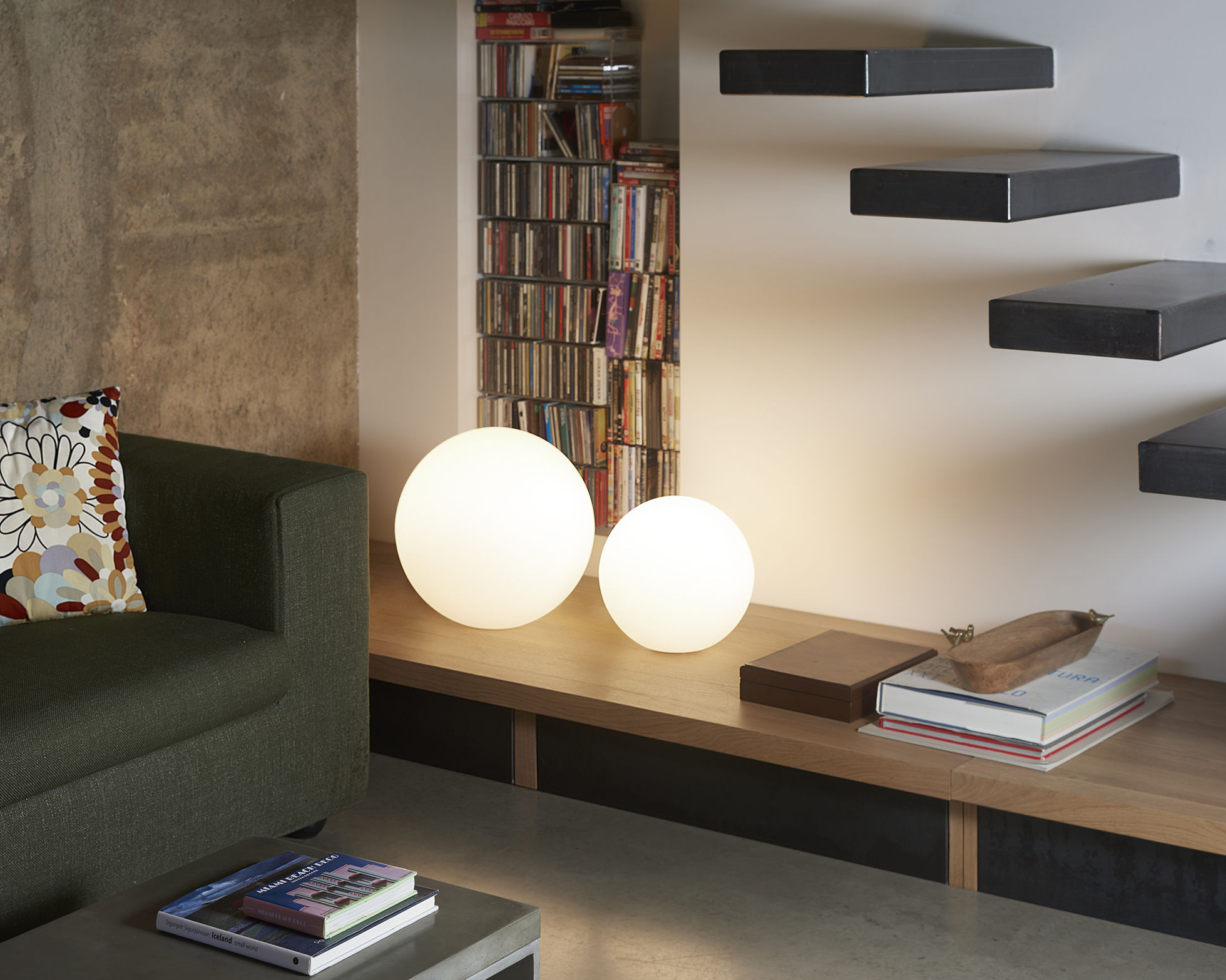 Scopri lampada senza fili globo outdoor led Ø 25 cm per l