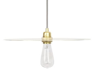 Leuchten - Pendelleuchten - Circle Large Lampenschirm / Ø 40 cm - Frama  - Large - Messing - Messing