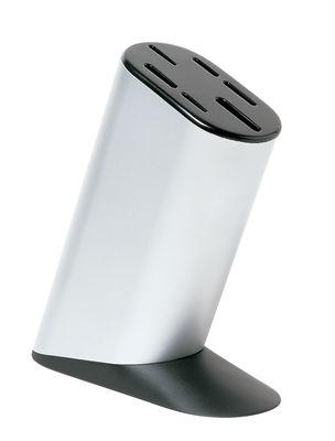 Küche - Küchenmesser - Mami Messerblock - Alessi - Stahl - schwarz - ABS, Aluminium