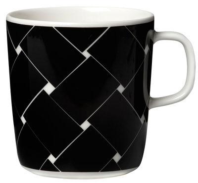 Mug Basket / 40 cl - Marimekko blanc,noir en céramique
