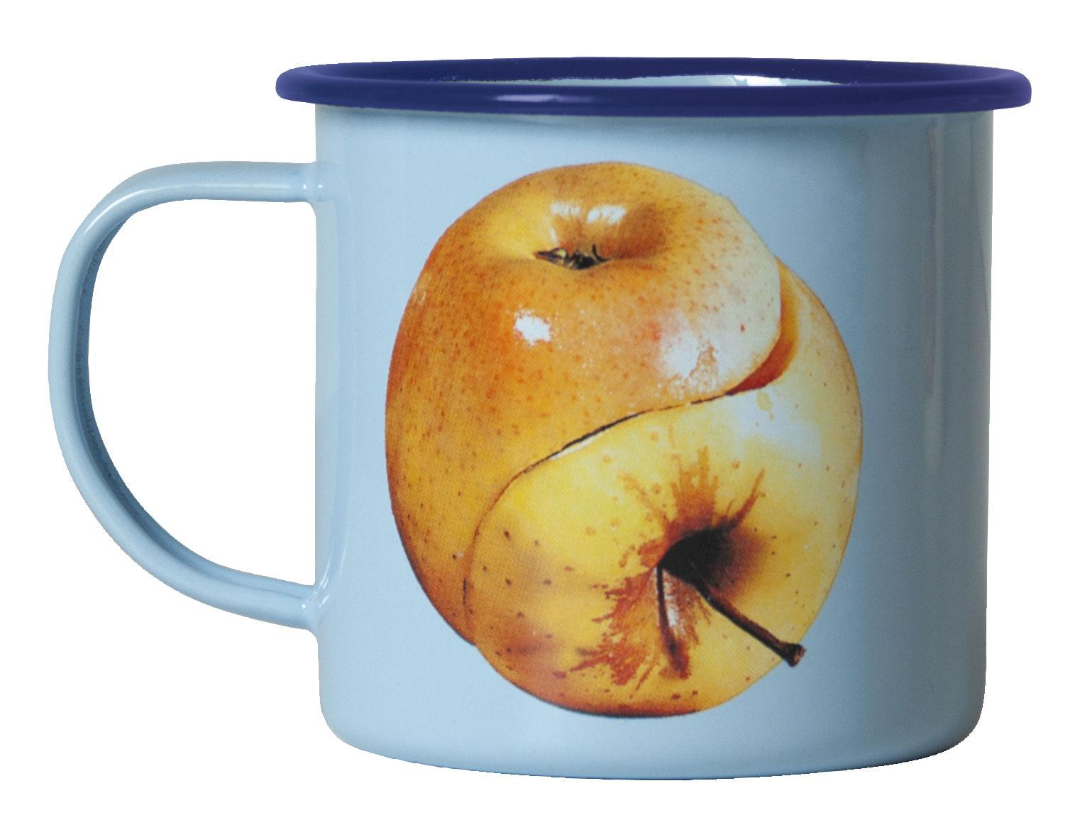 Tableware - Coffee Mugs & Tea Cups - Toiletpaper Mug - / Ying & Yang Apple by Seletti - Yin & Yang apple - Enamelled metal