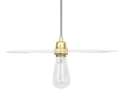 Lighting - Pendant Lighting - Circle Large Pendant - Ø 40 cm by Frama  - Large - Brass - Brass