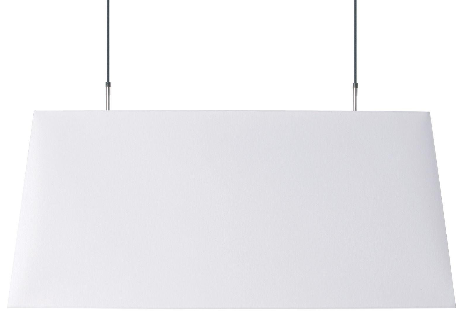 Leuchten - Pendelleuchten - Long light Pendelleuchte - Moooi - Weiß - Baumwolle