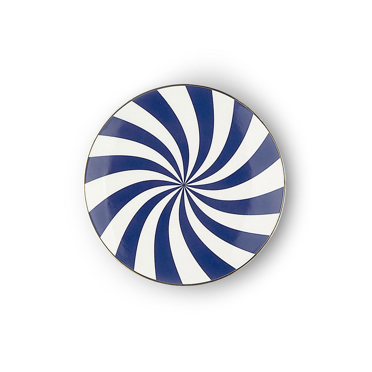 Tableware - Plates - Ruota Petit fours plates - / Ø 12 cm by Bitossi Home - Spiral - China