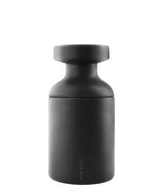 Pot pour salle de bain / Avec couvercle - Eva Solo noir en céramique