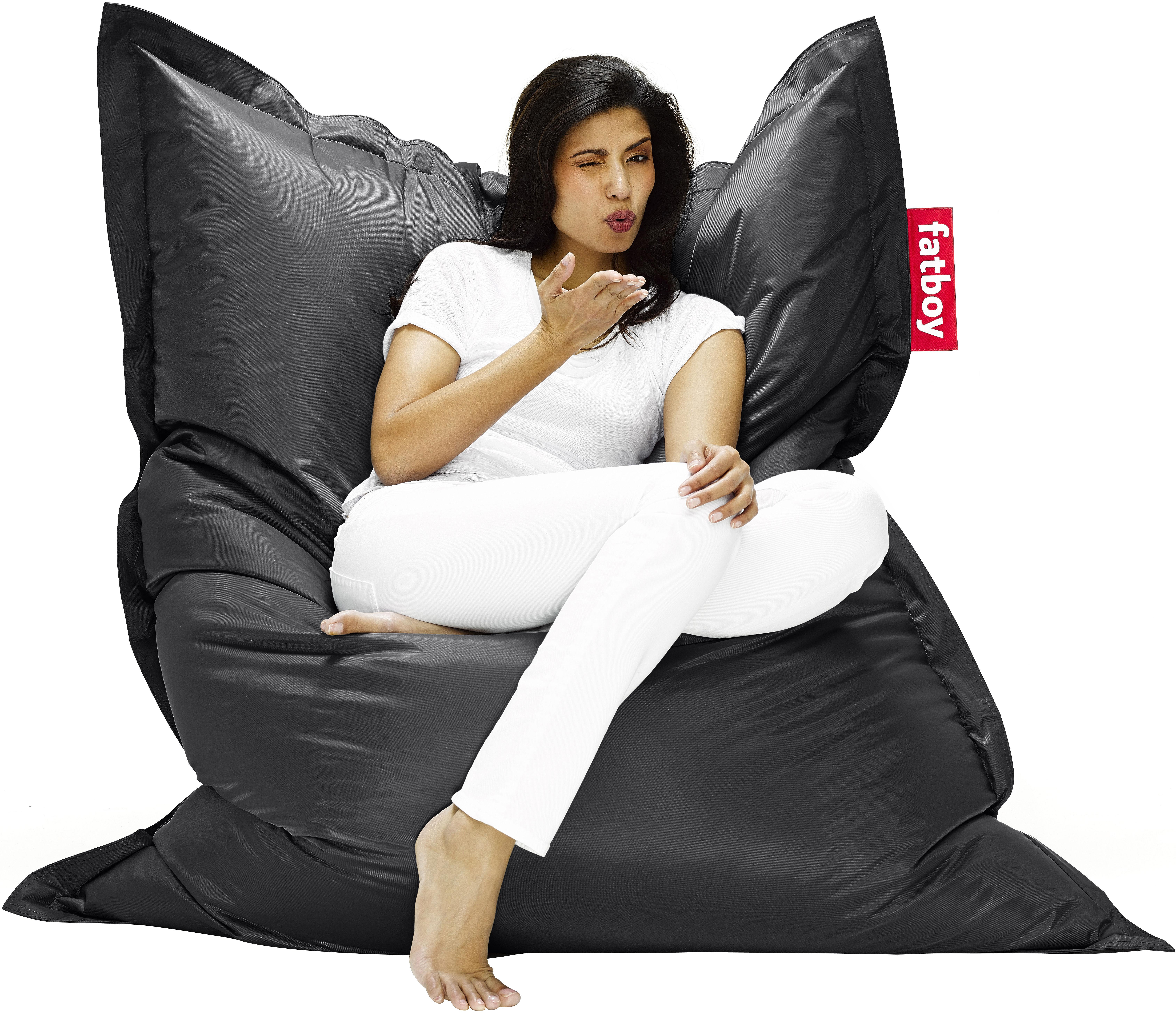 Furniture - Teen furniture - The Original Pouf by Fatboy - Black - Nylon, Polystyren balls