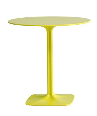 Outdoor - Tavoli  - Tavolo rotondo Supernatural di Moroso - Verde - Fibra di vetro, Polipropilene