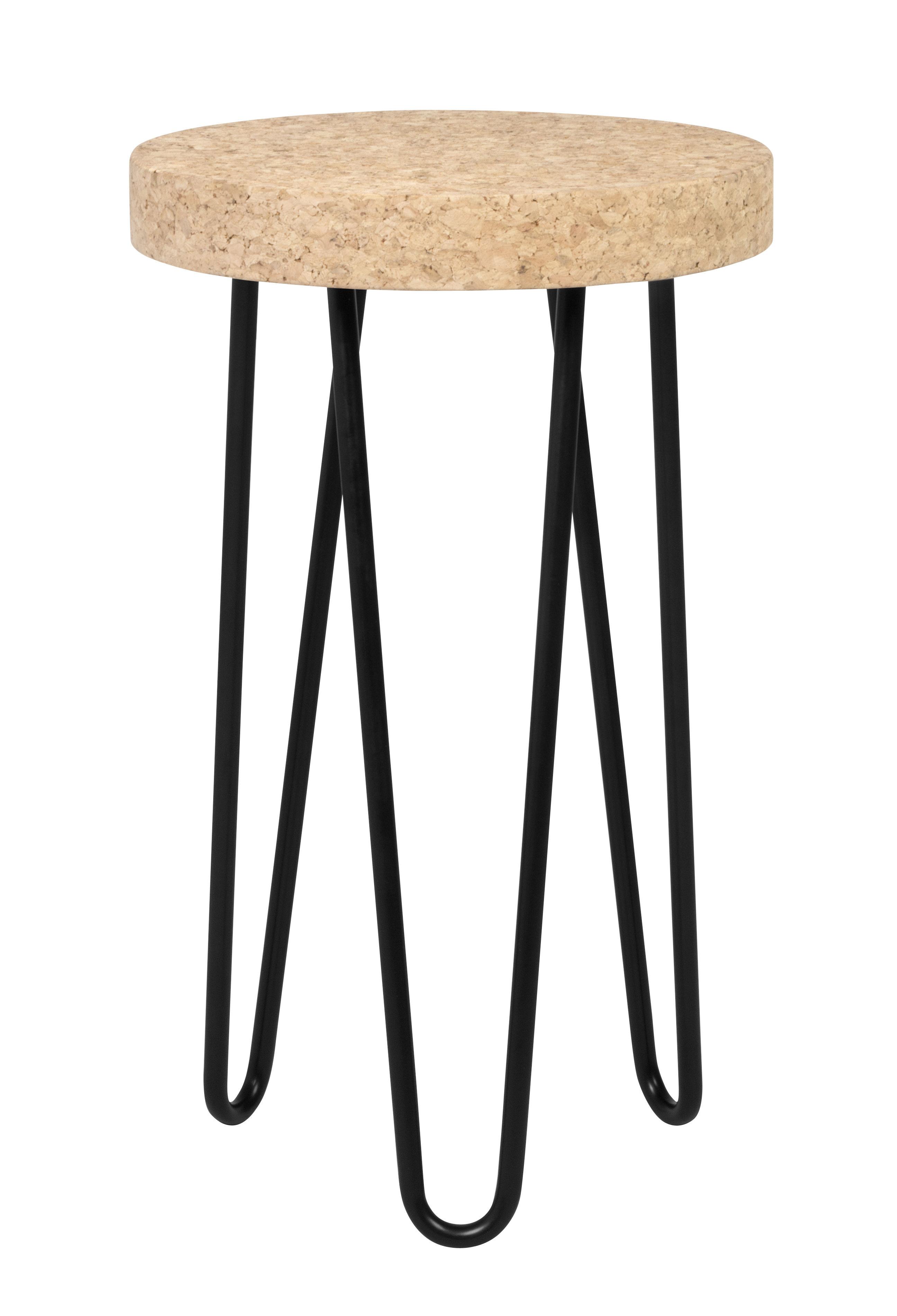 Mobilier - Tables basses - Table d'appoint Bruxelles / Liège - Ø 29 x H 47 cm - POP UP HOME - Liège / Noir - Liège, Métal