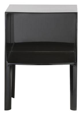 Table de chevet Small Ghost Buster - Kartell noir en matière plastique