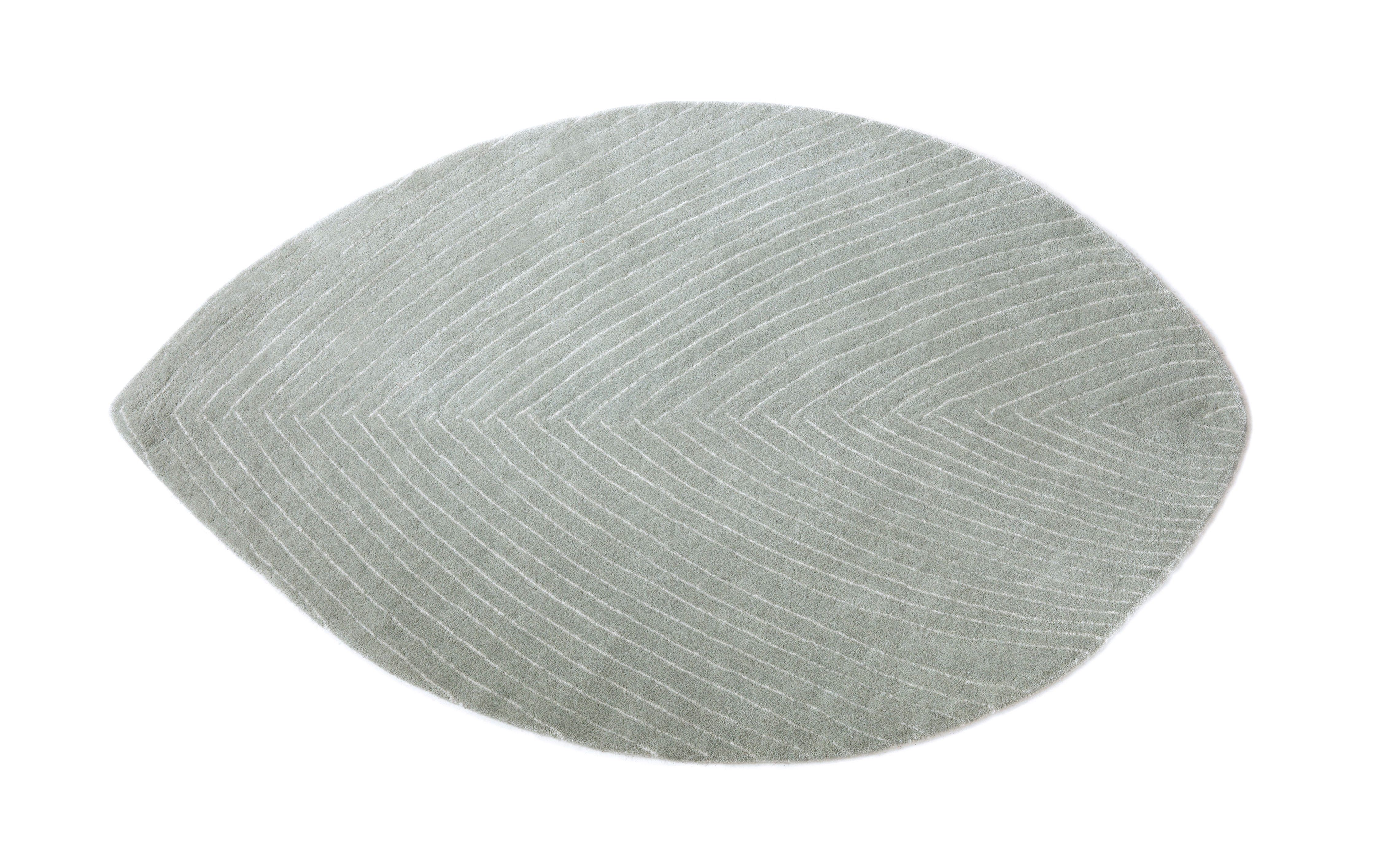 Déco - Tapis - Tapis Quill Small / 78 x 120 cm - Nanimarquina - Gris pluvieux - Laine vierge