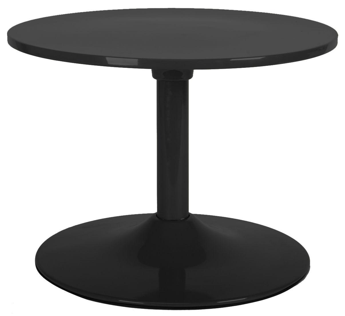 Arredamento - Tavolini  - Tavolino Ball table di XL Boom - Nero - ABS laccato