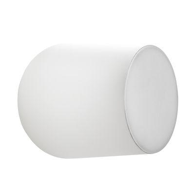 Applique Passepartout JH10 / LED - Ø 15,5 x H 17 cm - &tradition blanc mat en métal