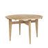 B-Table Ausziehtisch / Neuauflage 1950 / Runde oder quadratische Tischplatte: 85 x 85 oder Ø 116 cm - Gubi
