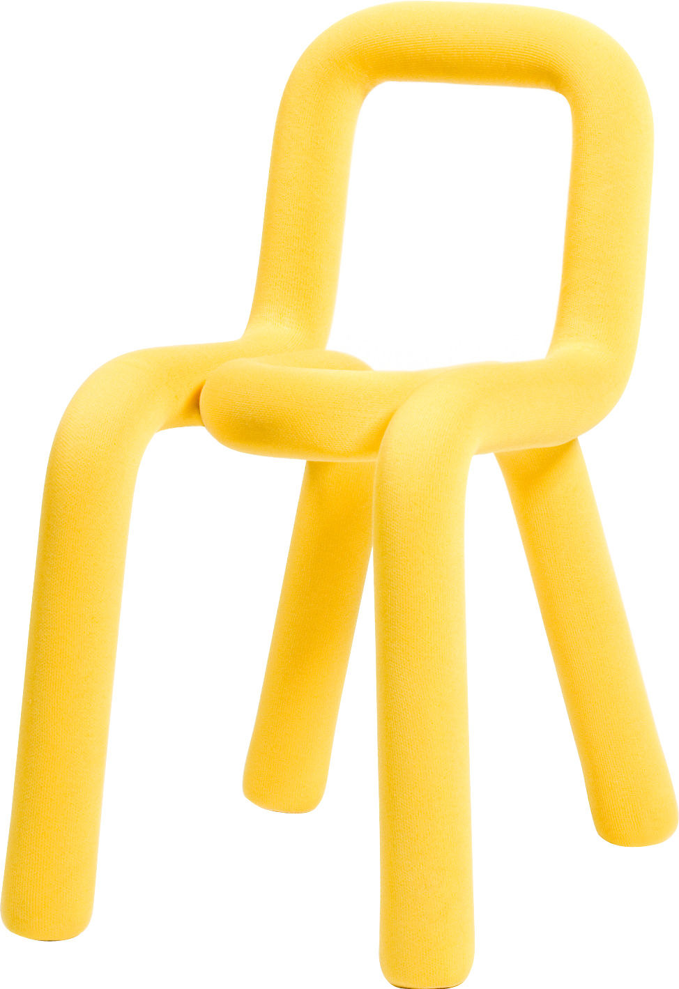 Furniture - Chairs - Chair cover - For bold chair by Moustache - Yellow - Cotton, Polyurethane