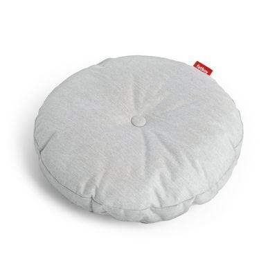 Coussin d'extérieur Circle Pillow / Ø 50 cm - Fatboy gris argent en tissu