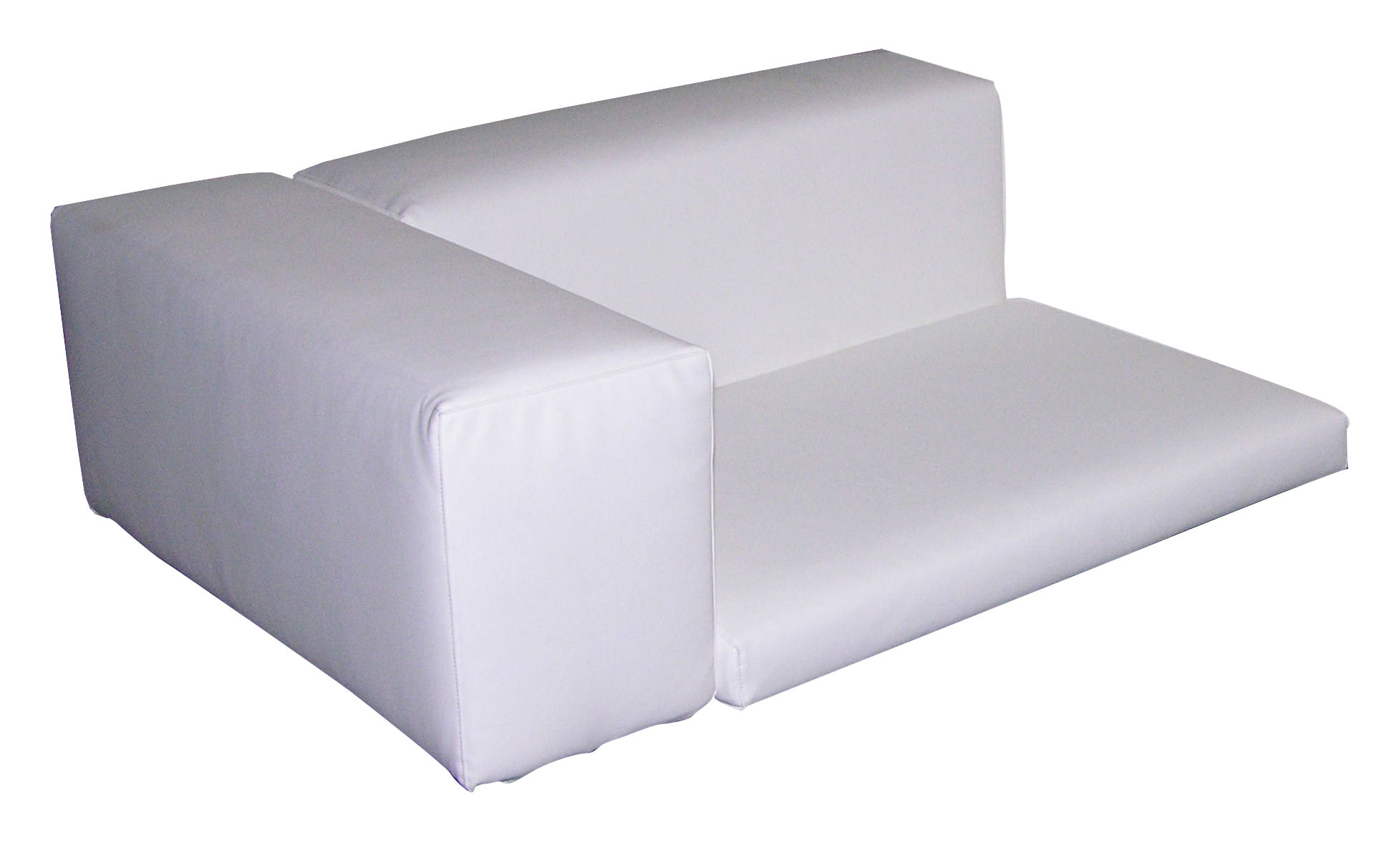 Coussin Happy Life Slide   Coussin d'assise / Blanc   l 88 | Made