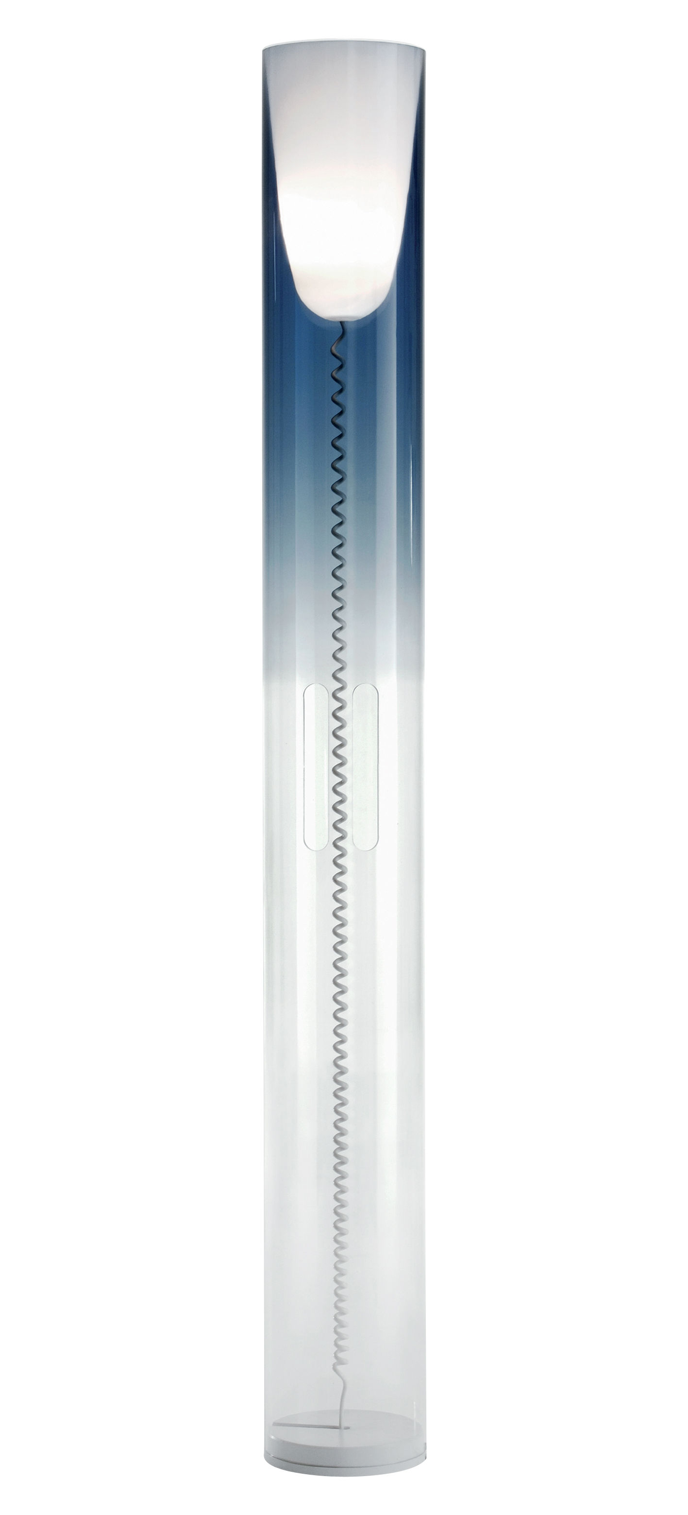 Lighting - Floor lamps - Toobe Floor lamp by Kartell - Blue - PMMA, Polycarbonate
