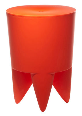 Möbel - Möbel für Teens - New Bubu 1er Hocker Opak - XO - Delhi Orange - Polypropylen