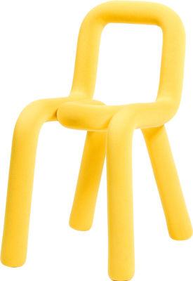 Mobilier - Chaises, fauteuils de salle à manger - Housse de chaise / Pour chaise Bold - Moustache - Jaune - Coton, Polyuréthane