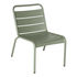 Luxembourg Lounge chair - / Low seat by Fermob