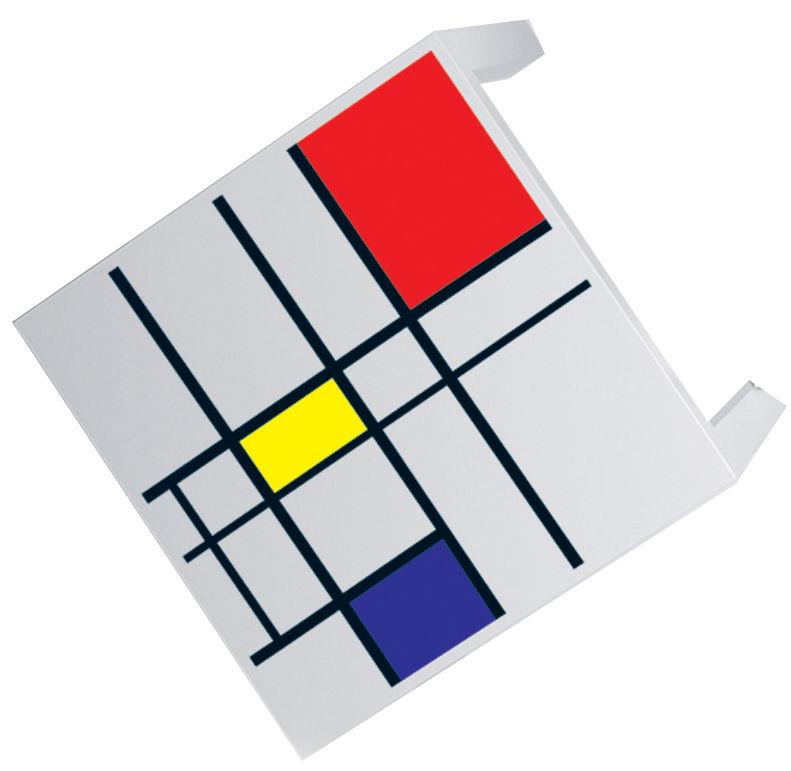 Dekoration - Stickers und Tapeten - Par C. & L. Leon Boym Möbelsticker für Tische - Domestic - Rot - Vinyl
