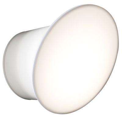 Leuchten - Wandleuchten - Ecran Outdoor-Wandleuchte LED - für Haus und Garten - Luceplan - Weiß - Polykarbonat