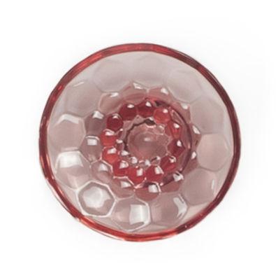 Patère Jellies Family M Ø 13 x H 6 cm Kartell rose en matière plastique