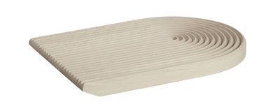 Planche à découper Field / Arrondie - 33 x 25 cm - Hay hêtre naturel en bois