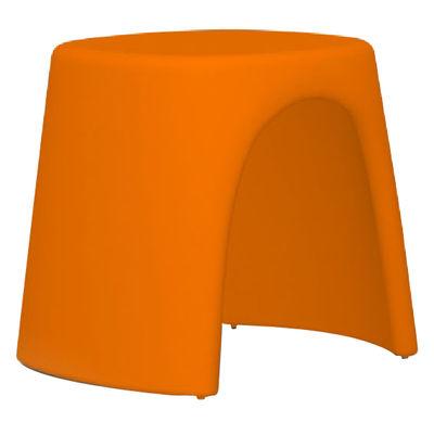 Arredamento - Sgabelli - Sgabello impilabile Amélie di Slide - Arancione - Polietilene