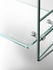 String Pocket Shelf - / Glass - Numbered, limited edition 70 years - L 60 x H 50 cm by String Furniture