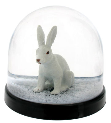 Decoration - Children's Home Accessories - Snowball - Rabbit by & klevering - White - Plastic