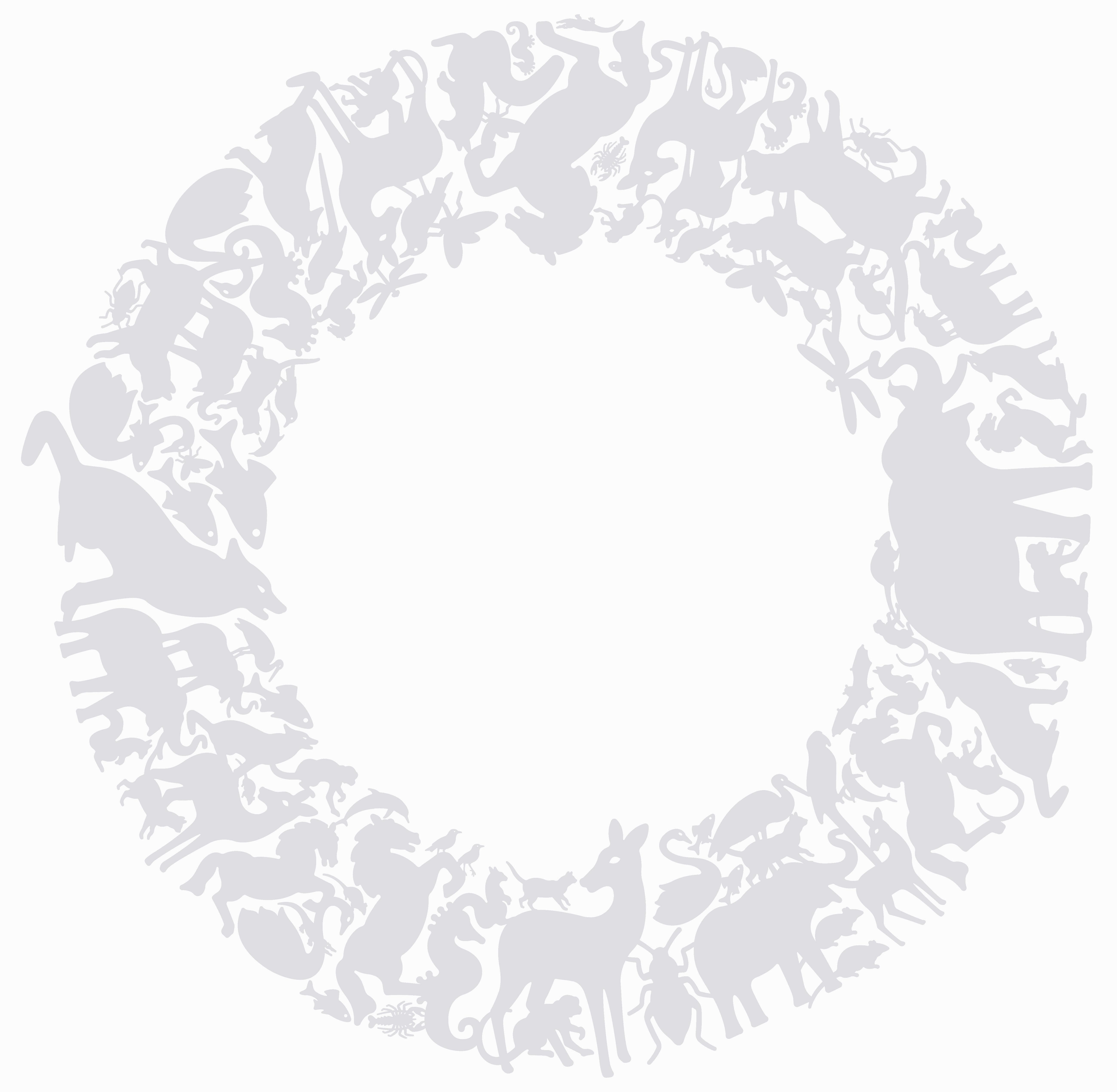 Déco - Stickers, papiers peints & posters - Sticker Panthéon Circle - Domestic - Gris - Vinyle