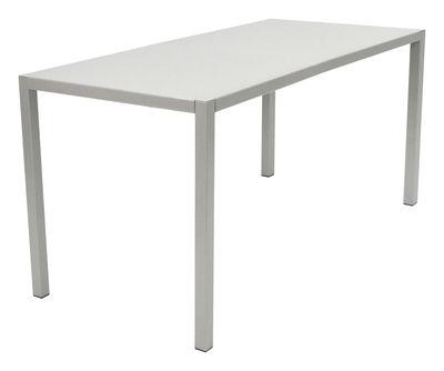 Jardin - Tables de jardin - Table Inside Out By Andrée & Olivia Putman / 140 x70 cm - Fermob Idoles - Gris métal - 140 x 70 cm - Acier laqué