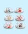 Tazzina da caffè Toiletpaper - I Love You di Seletti