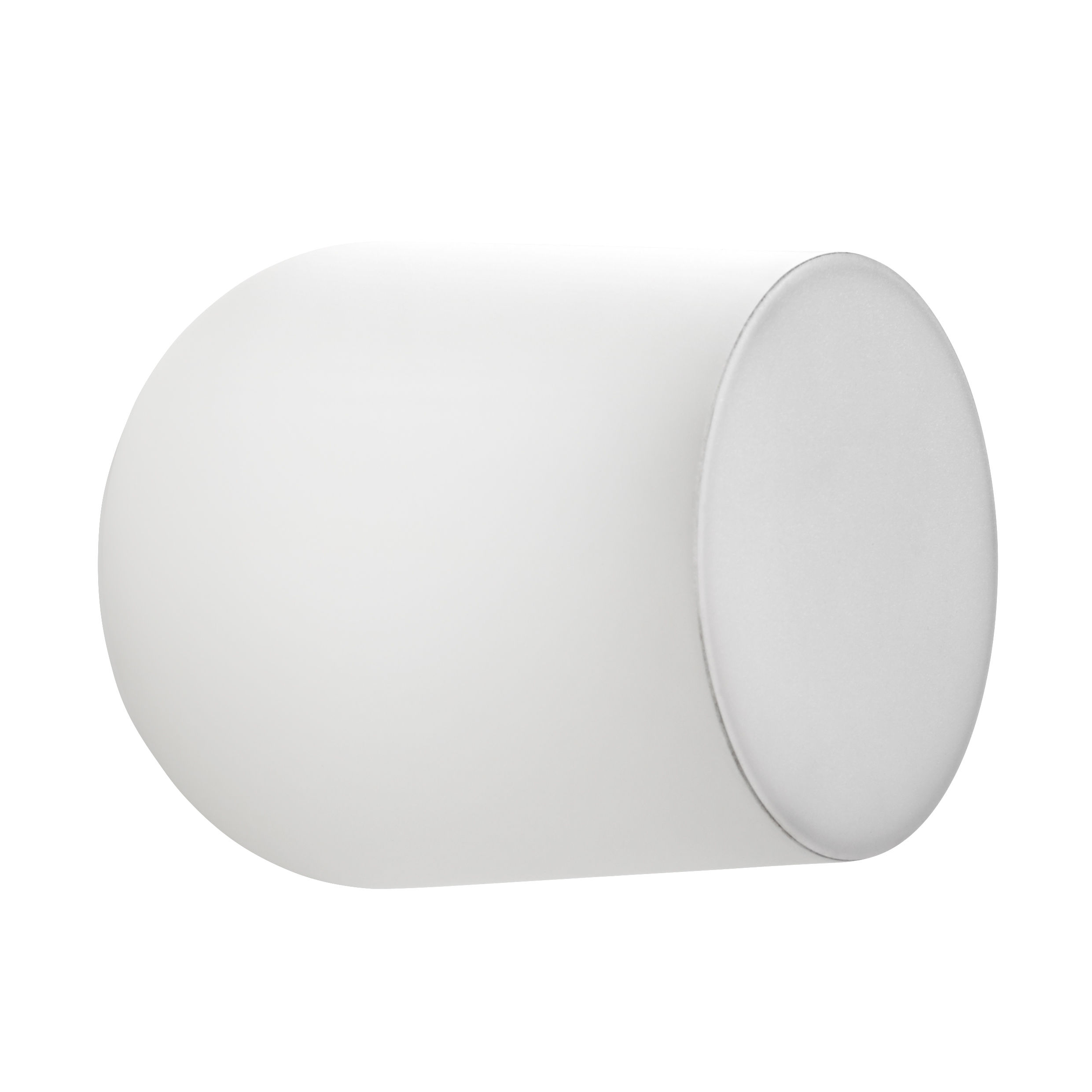 Lighting - Wall Lights - Passepartout JH10 Wall light - LED - Ø 15,5 x H 17 cm by &tradition - Matt white - Lacquered metal, Polycarbonate
