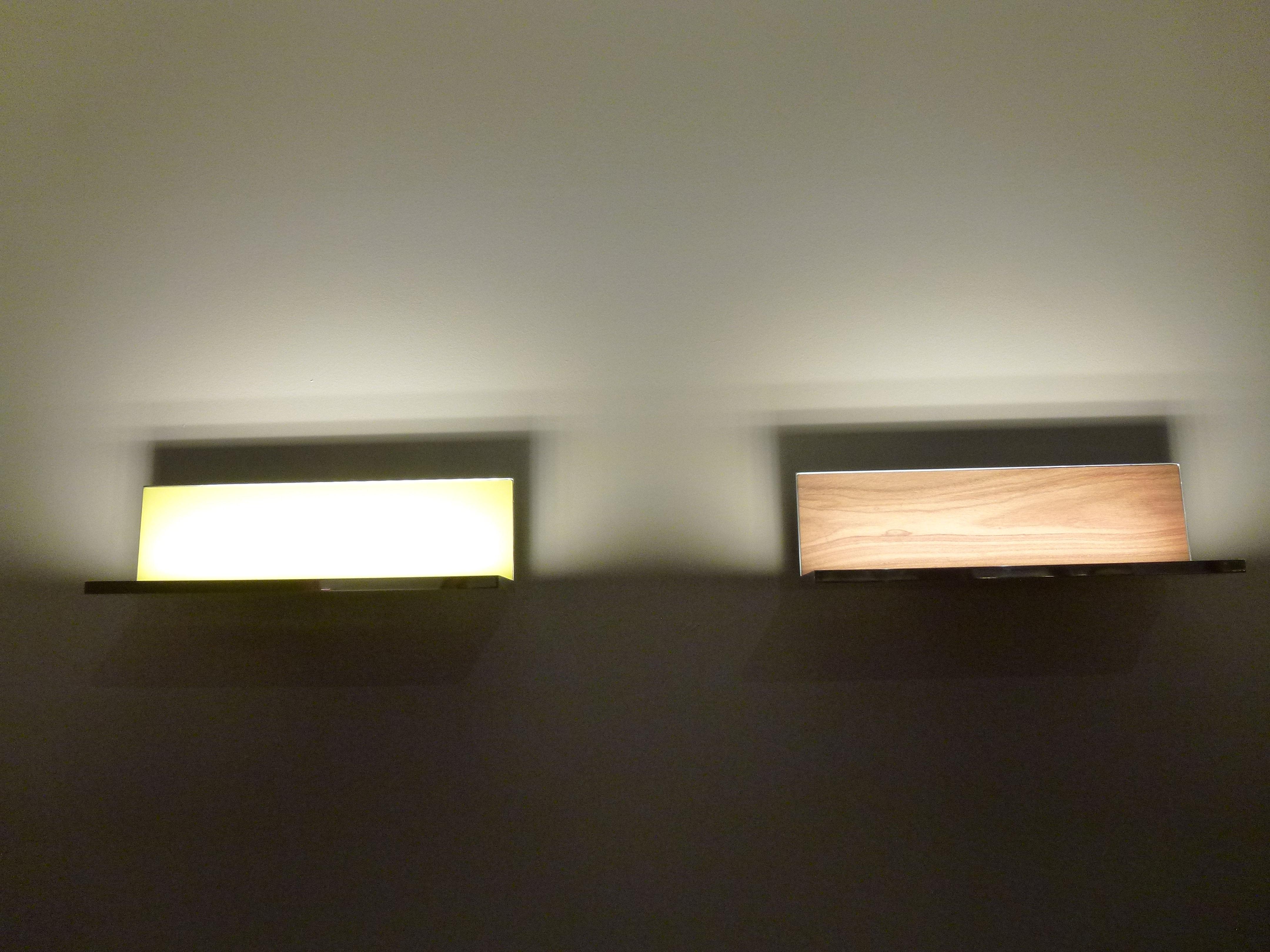 Plafoniere Da Soffitto Flos : Hide l applique led 40 cm nero brillante by flos made in design