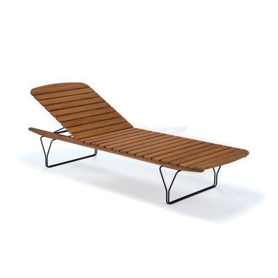 Jardin - Bains de soleil, chaises longues et hamacs - Bain de soleil Molo / Bambou - Multiposition - Houe - Bain de soleil / Bambou - Bambou