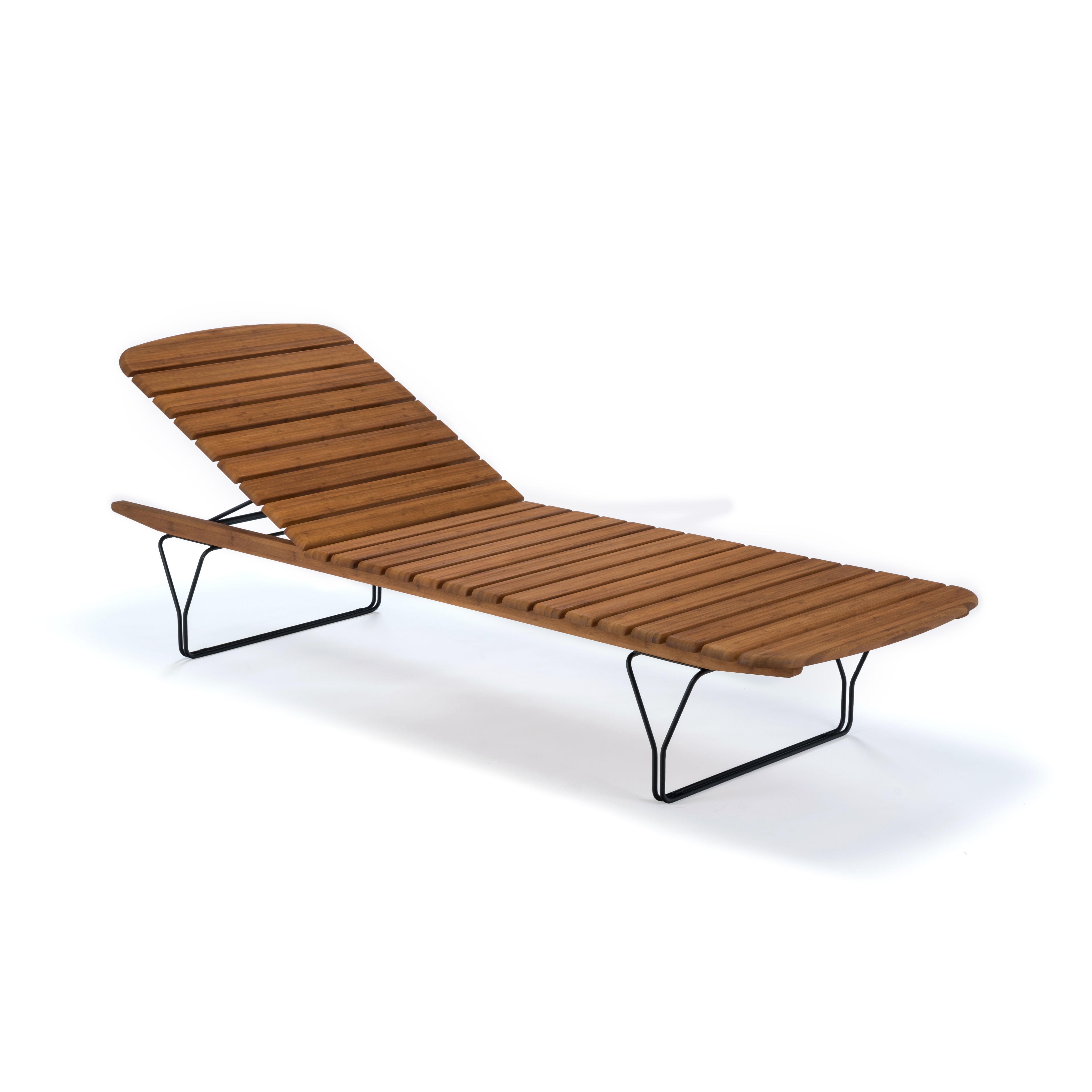Outdoor - Chaises longues et hamacs - Bain de soleil Molo / Bambou - Multiposition - Houe - Bain de soleil / Bambou - Bambou