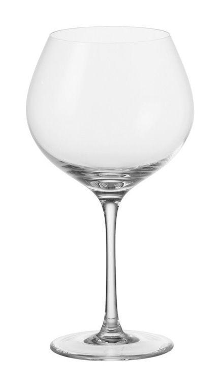 Tavola - Bicchieri  - Bicchiere da vino Ciao+ - da Bourgogne di Leonardo - Trasparente - Vetro