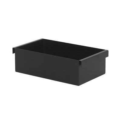 Decoration - Flower Pots & House Plants - Box - / For Plant Box planter on stand by Ferm Living - Black - Epoxy lacquered steel