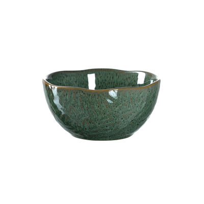 Tavola - Ciotole - Ciotola Matera - / Gres - Ø 12 cm di Leonardo - verde - Gres smaltato