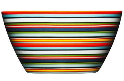 Arts de la table - Saladiers, coupes et bols - Coupe Origo / 0,5L - Ø 14 x H 7 cm - Iittala - Orange - Porcelaine
