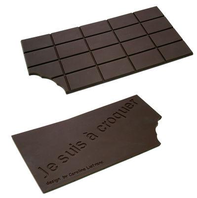 Cuisine - La cuisine s'amuse - Dessous de plat Chocolat - Caroline Lisfranc - Chocolat - Silicone