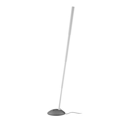 Lighting - Floor lamps - Micro Telescopic Floor lamp - / Telescopic tubes - H 109/220 cm by Pallucco - White - Cast iron, Varnished extruded aluminium