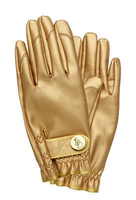 Outdoor - Pots & Plants - Garden gloves - / Large Size by Garden Glory - Gold - Brass, Polyurethane