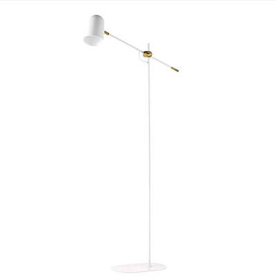 Image of Lampada a stelo Bureau - / Orientabile di Bolia - Bianco - Metallo