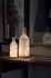 Lampada senza fili Alabast Medium - LED - / H 30 cm - Alabastro OUTDOOR di Carpyen